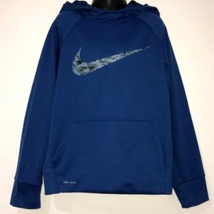 BOY'S NIKE THERMA FIT PULLOVER HOODIE NEW